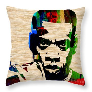 Jay Z Throw Pillow by Marvin Blaine