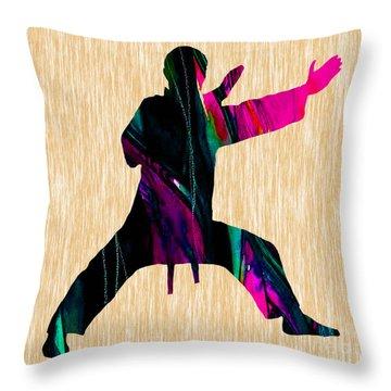Martial Arts Karate Throw Pillow