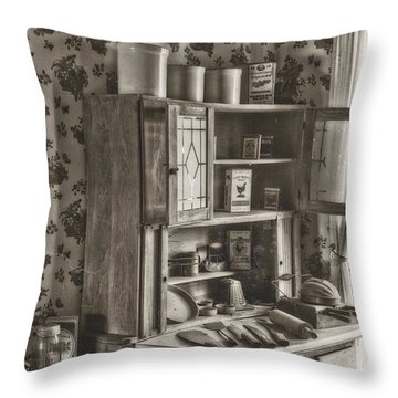 1800s Kitchen Throw Pillow