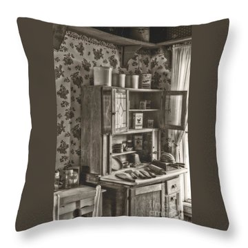 1800s Kitchen Throw Pillow