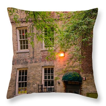 1847 Old Rectory Throw Pillow