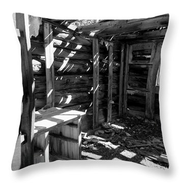 1880's Cabin Throw Pillow