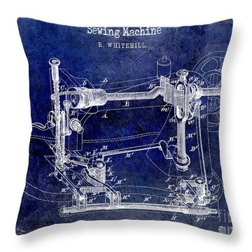 1885 Throw Pillows