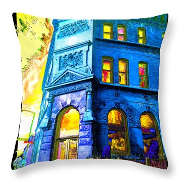 18th And Canal Throw Pillow