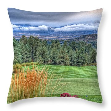 18th At The Ridge Throw Pillow