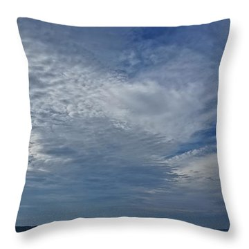 18th Birthday Sky Throw Pillow