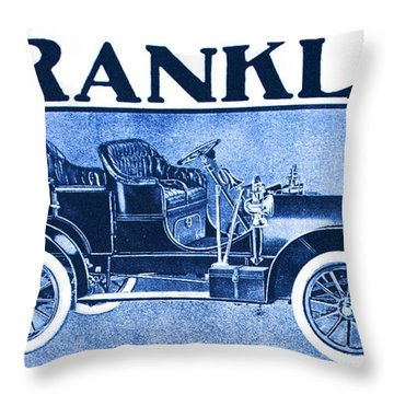 1906 Franklin Throw Pillow