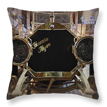 1908 Thomas Flyer Throw Pillow