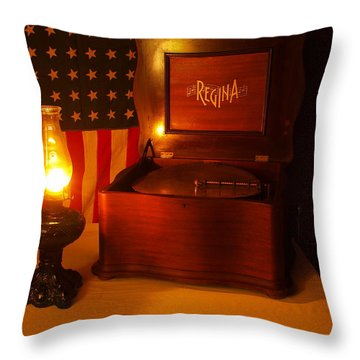 1912 Throw Pillow by Gordon Collins