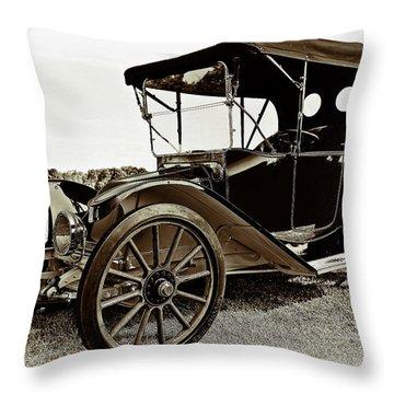 1913 Argo Electirc Model B Roadster Coffee Throw Pillow by Marcia Colelli