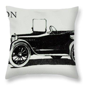 1914 Saxon Throw Pillow