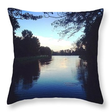 Instagram Photo Throw Pillow