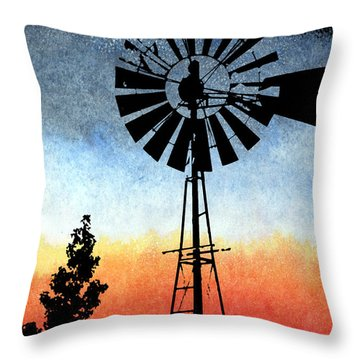 Nostalgia High Tech Throw Pillow by R Kyllo