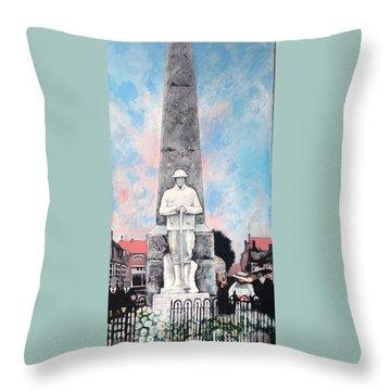 1921 War Memorial Throw Pillow