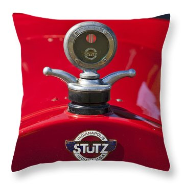 1922 Stutz Throw Pillow