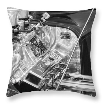 1923 Ford T-bucket Engine 2 Throw Pillow
