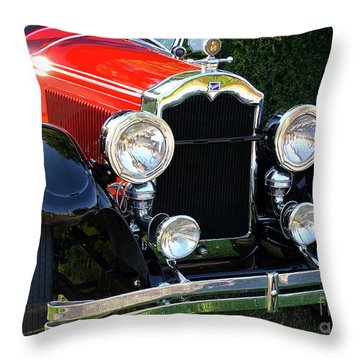 1924 Buick Throw Pillow