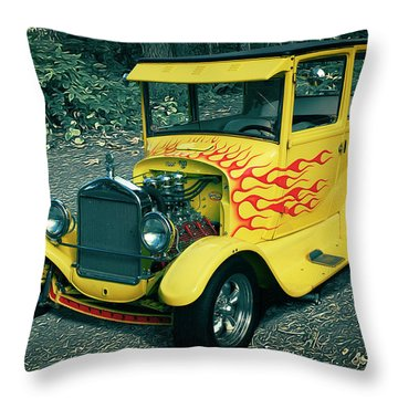 1927 Ford Model T Throw Pillow