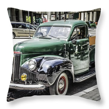 1930s Studebaker Throw Pillow