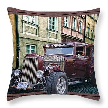 1931 Chev Throw Pillow