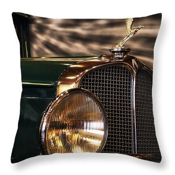 1931 Oakland Sports Coupe Throw Pillow by Thomas Woolworth