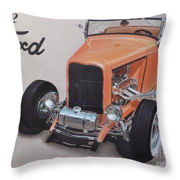 1932 Ford Throw Pillow by Paul Kuras