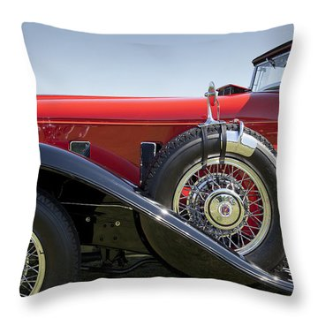 1932 Stutz Bearcat Dv32 Throw Pillow