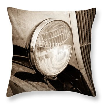 1933 Ford Coupe Hot Rod Throw Pillow