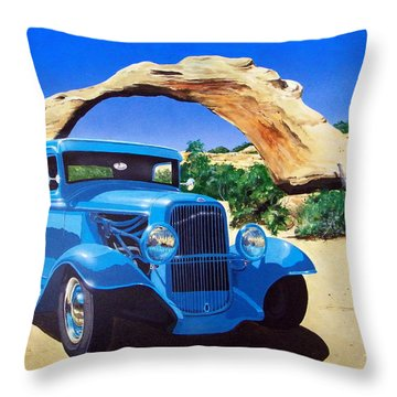 1933 Ford Pickup Throw Pillow