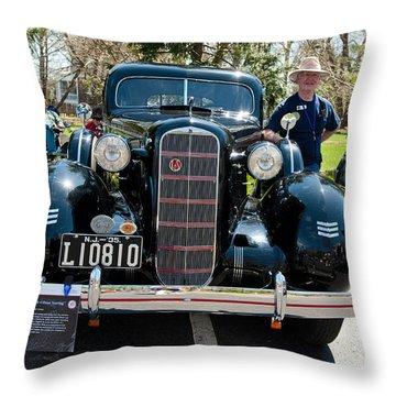 1935 Lasalle Throw Pillow