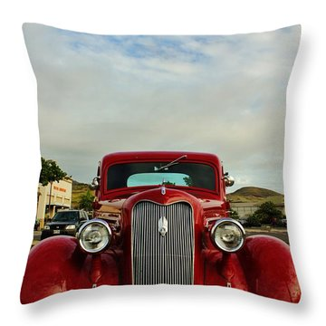 1936 Plymouth Throw Pillow by Craig Wood