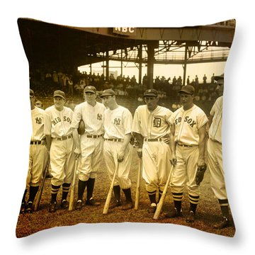 1937 All Stars Throw Pillow