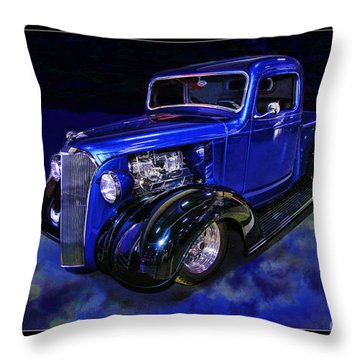1937 Chevrolet Pickup Truck Throw Pillow