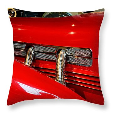 1937 Cord 812 Supercharged Phaeton Throw Pillow by Paul Ward