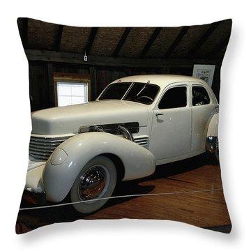 1937 Cord 812 Westchester Throw Pillow