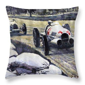 1937 Throw Pillows