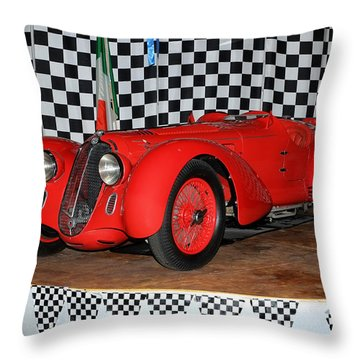 1938 Alfa Romeo 2900b Mm Throw Pillow