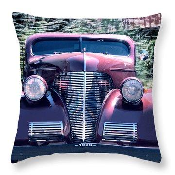 1939 Chevy Immenent Front Original Throw Pillow