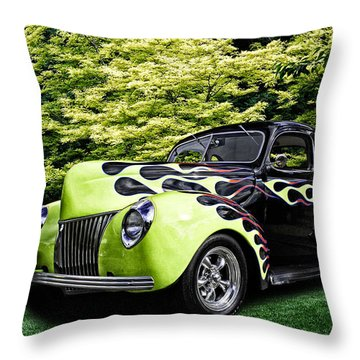 1939 Ford Coupe Throw Pillow
