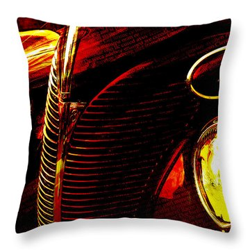 1939 Ford Throw Pillow