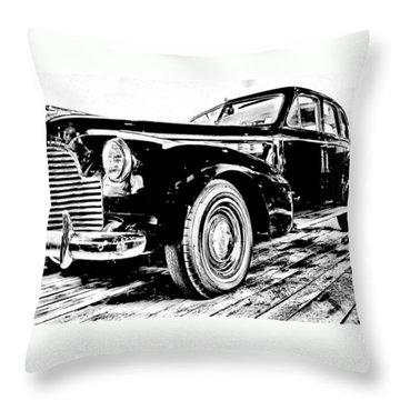 1940 Buick Century Throw Pillow