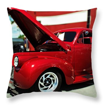1940 Chevy Throw Pillow