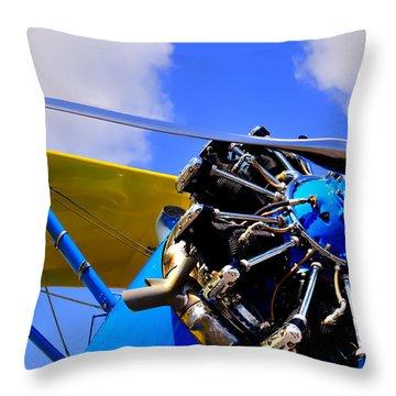 1940 Stearman Pt-18 Kadet Throw Pillow