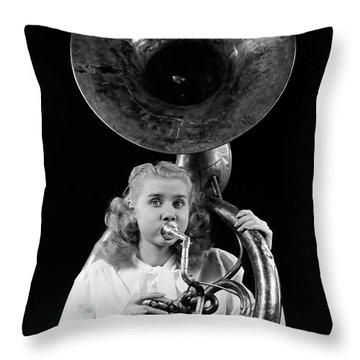 Sousaphone Throw Pillows