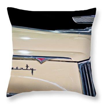 1941 Packard Hood Ornament Throw Pillow by Jill Reger