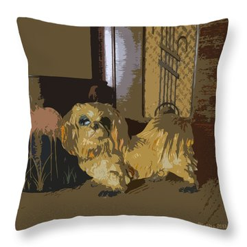 1945 Throw Pillow