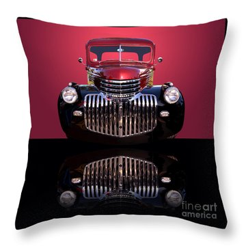 1946 Chevy Panel Truck Throw Pillow