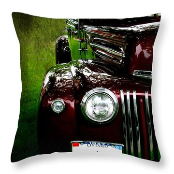 1947 Ford Throw Pillow by Amanda Struz