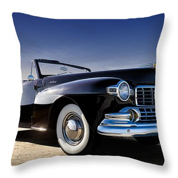 1947 Lincoln Continental Throw Pillow
