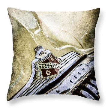 Buick Emblem Throw Pillows